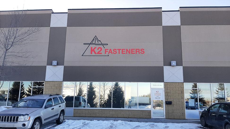 K2 Fasteners Edmonton Office Location